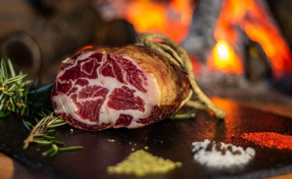 capocollo lucano genuino come una volta