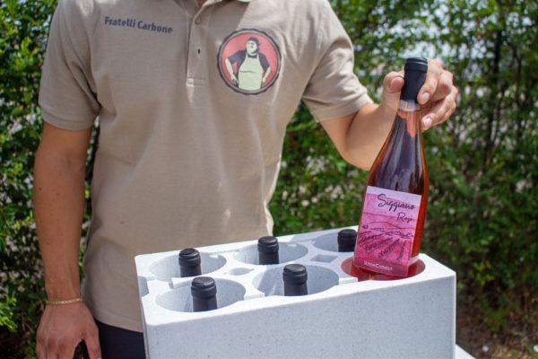 vino siggiano nel packaging