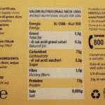retro etichetta pasta